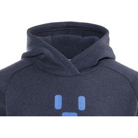 Haglöfs Swook Logo Hood Men deep blue